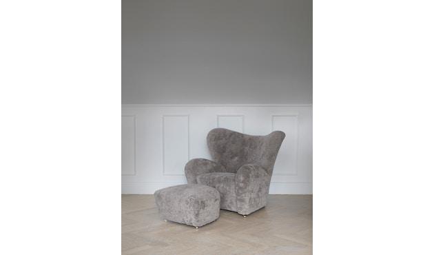by Lassen - The Tired Man voetenbank - Hallingdal 130 - grijs gevlekt - 8