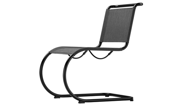 Thonet - S 533 N All Seasons - weiß - Netzgewebe anthrazit - 3