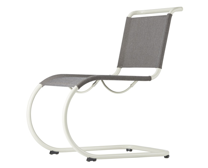 Thonet - S 533 N All Seasons - weiß - Netzgewebe anthrazit - 1