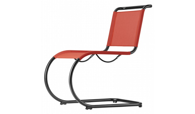 Thonet - S 533 N All Seasons - weiß - Netzgewebe anthrazit - 2