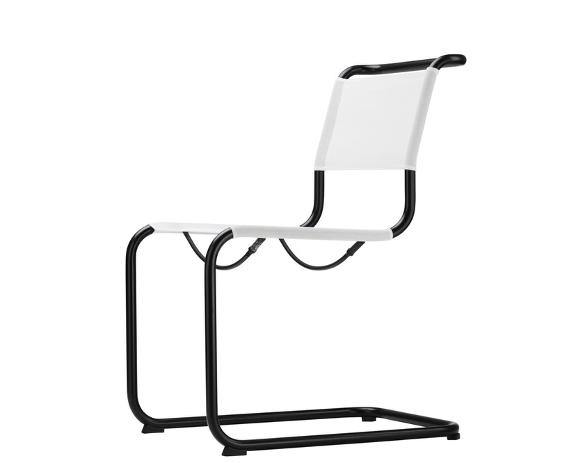 Thonet - S 33 N All Seasons - weiß - Netzgewebe anthrazit - 1