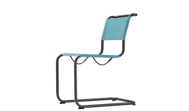 Thonet - S 33 N All Seasons - weiß - Netzgewebe anthrazit - 2