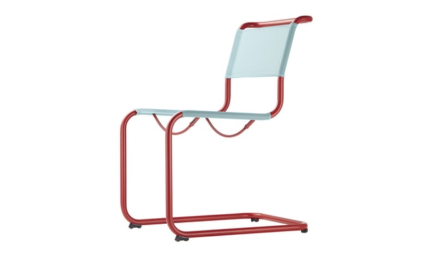 Thonet - S 33 N All Seasons - weiß - Netzgewebe anthrazit - 3