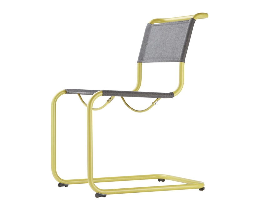 Thonet - S 33 N All Seasons - weiß - Netzgewebe anthrazit - 4