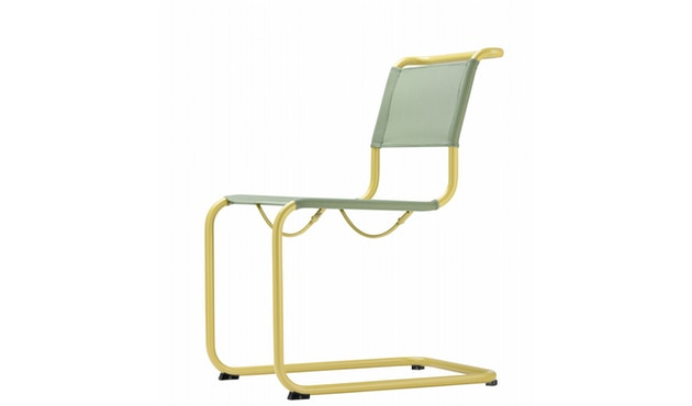 Thonet - S 33 N All Seasons - weiß - Netzgewebe anthrazit - 5