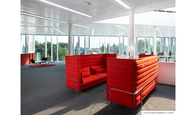 Vitra - Alcove Highback 3-Sitzer Sofa - 5