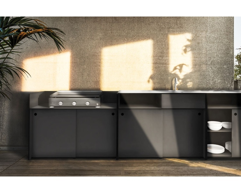 Conmoto - TICINO Kitchen Space  - HPL - anthrazit - 2