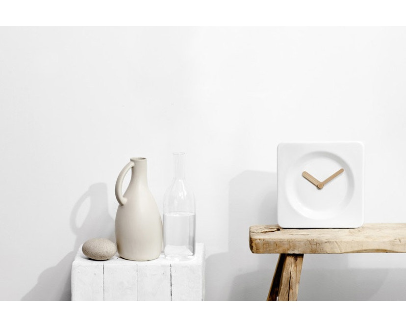 LEFF amsterdam - Tile Tisch/Wanduhr - 2