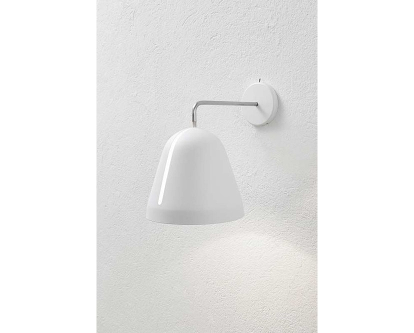 Nyta - Tilt wandlamp - voedingskabel - wit - wit - 8