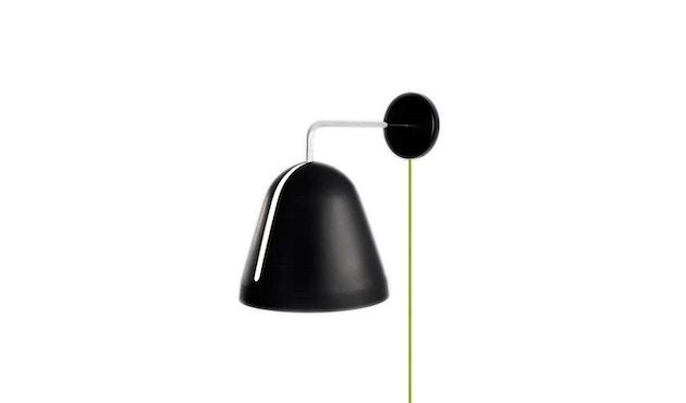 Nyta - Cordon d'alimentation avec fiche pour applique murale Tilt - vert clair - noir - 5