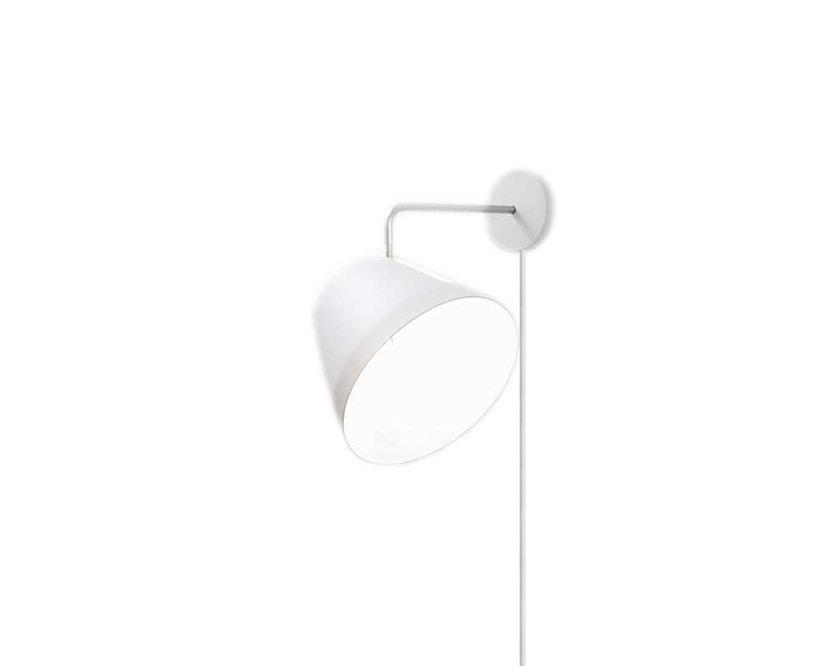 Nyta - Tilt wandlamp - voedingskabel - wit - wit - 5