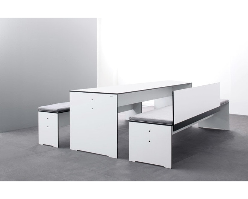 Conmoto - Table Riva S - blanc - S - 5