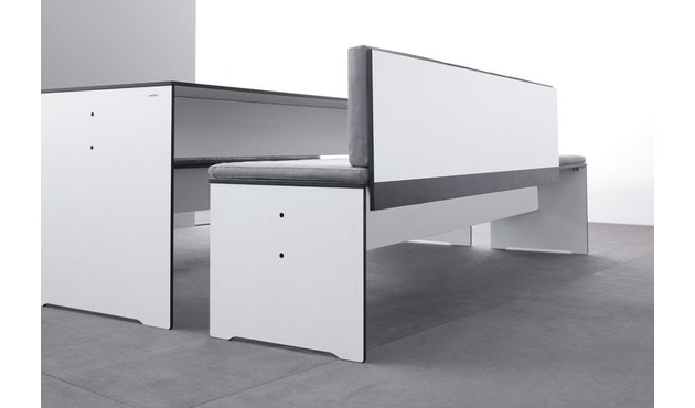 Conmoto - Table Riva S - blanc - S - 6