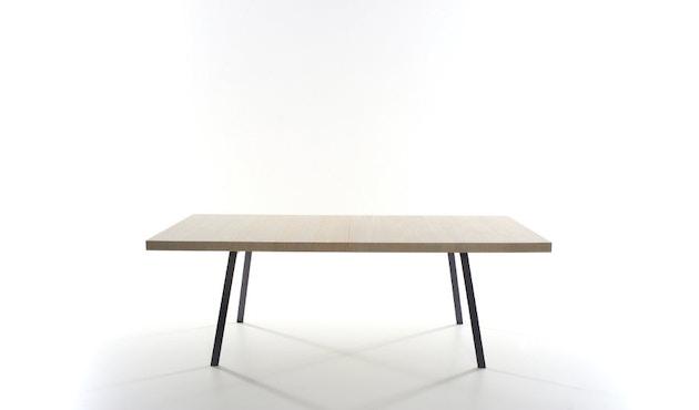 more - Tin Tisch - Eiche 01 - geölt und gewachst - Gestell anthrazit - 200 x 100 cm - 5