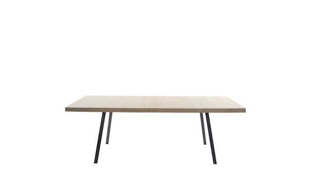 more - Tin Tisch - Eiche 01 - geölt und gewachst - Gestell anthrazit - 200 x 100 cm - 1