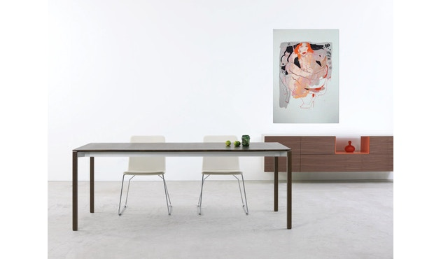 more - Tira Tisch - Eiche 02 - mattlackiert - 180 x 90 cm - 5