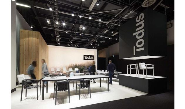 Todus - Duct Esstisch Keramik - Fume 214 - 160 x 100 cm - Grey 105 - 1