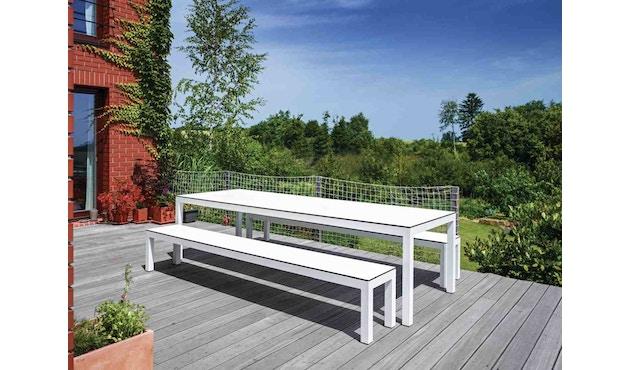 Todus - Leuven Esstisch - 100 x 205 cm - White 310 - White 110 - 5