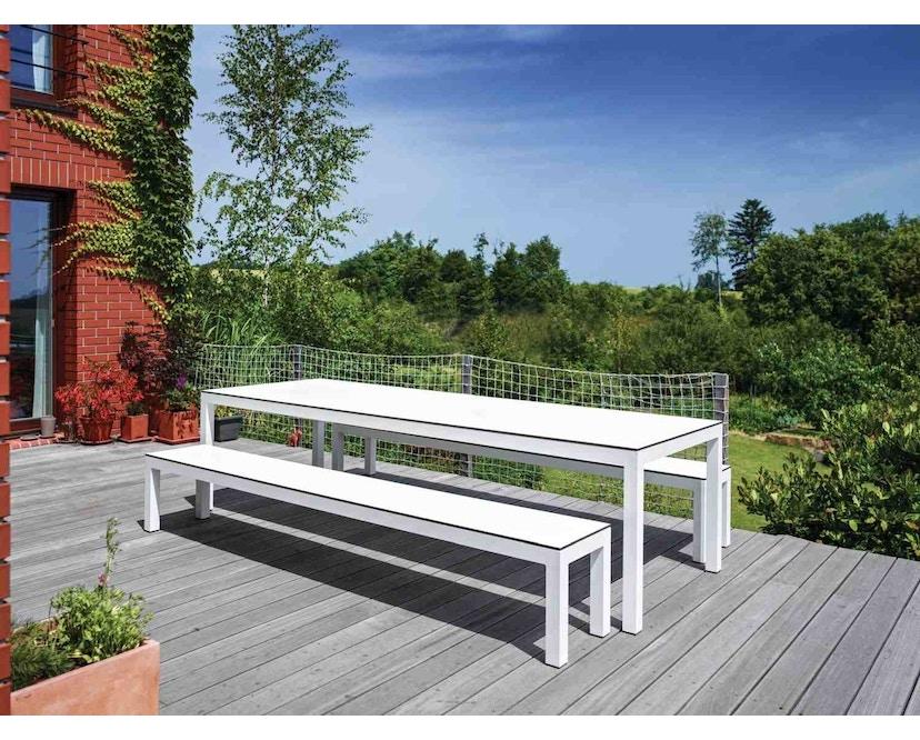 Todus - Leuven Bank - White 310 - Grey 105 - 40 x 205 cm - 4