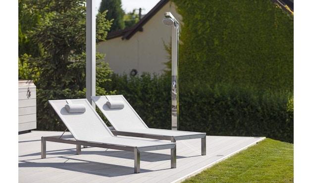 Todus - Leuven Sonnenliege Aluminium - Brown/White 525 - Anthracite 145 - 3