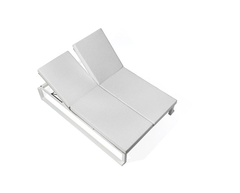 Todus - Auflage für Leuven Doppelliege - White 410 - 2