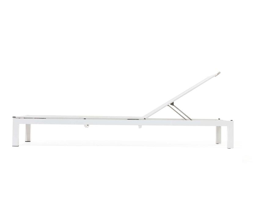 Todus - Leuven Sonnenliege Aluminium - Brown/White 525 - Anthracite 145 - 1