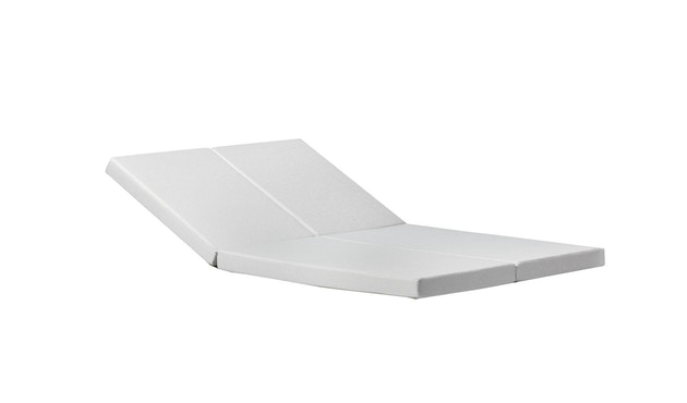 Todus - Auflage für Leuven Doppelliege - White 410 - 0