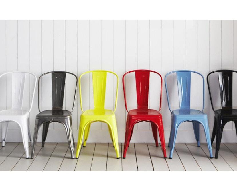 Tolix - A Stuhl - outdoor - rustikal grau - 7