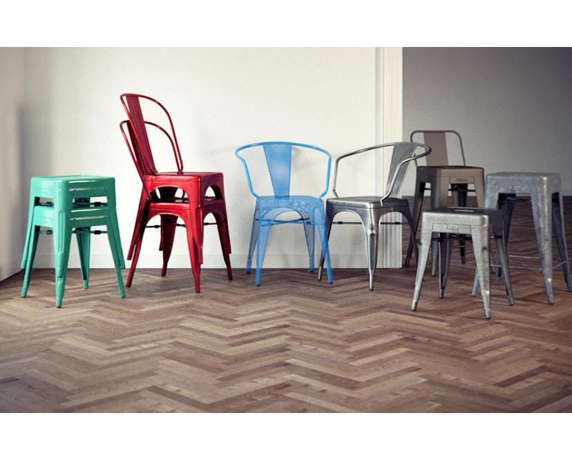 Tolix - A56 Armlehnstuhl Perforiert - outdoor - schwarz - 5