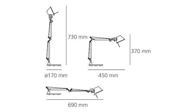 Artemide - Tolomeo Micro Tavolo Schreibtischleuchte - 11