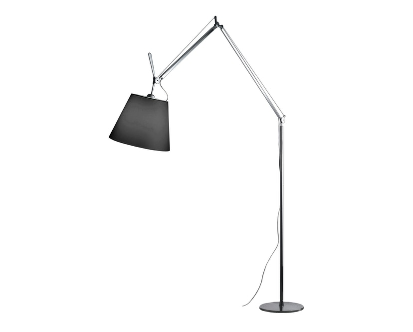 Artemide - Tolomeo Mega Terra LED Stehleuchte - schwarz- Aluminium - Ø 32 - 1
