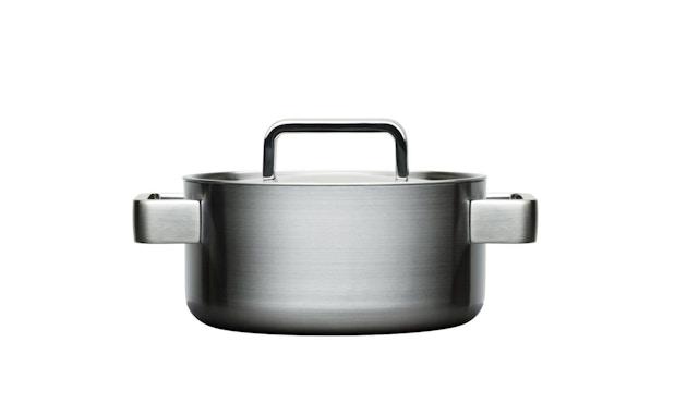 Iittala - Tools Kochtopf mit Deckel , 2l- silber - 1