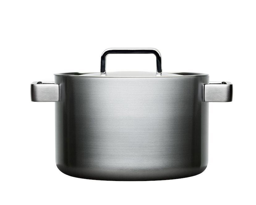 Iittala - Tools Kochtopf mit Deckel, 5l- silber - 1