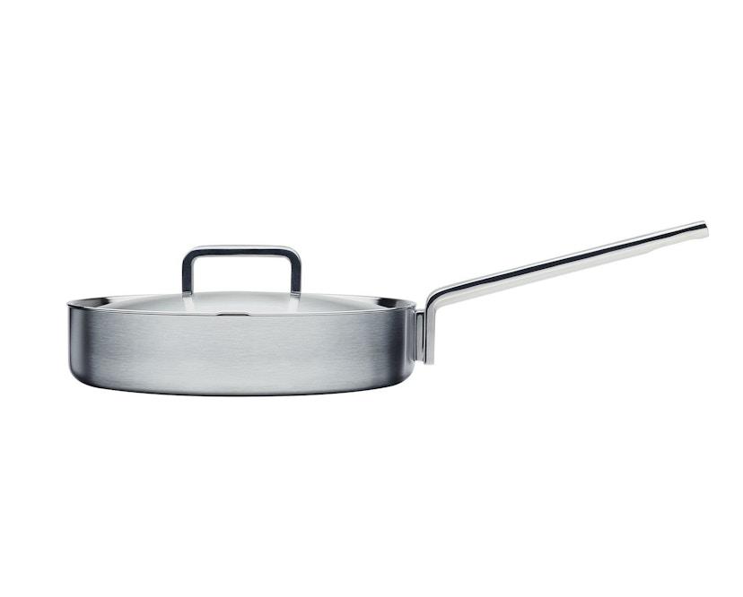 Iittala - Tools Sautépfanne mit Deckel - silber - 1