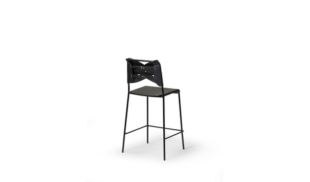 Design House Stockholm - Torso Bar- Stuhl - schwarz/ schwarz - 3