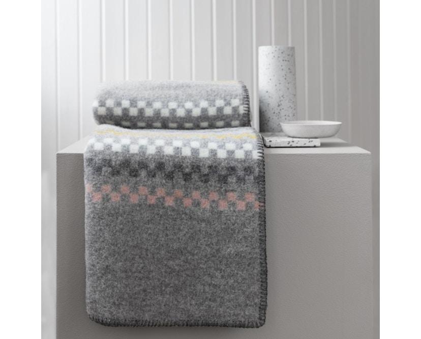 Roros Tweed - Toskaft Decke - blue - 4