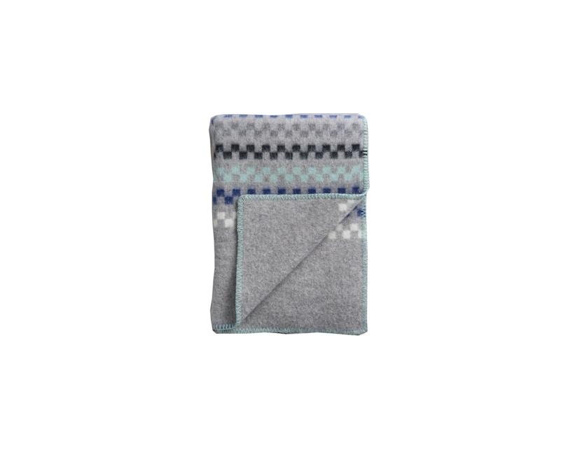 Roros Tweed - Toskaft Decke - grey-turquoise - 1