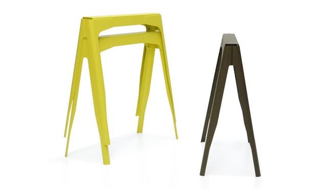 Tolix - Y Esstisch - indoor - lang - kaminrot - 4