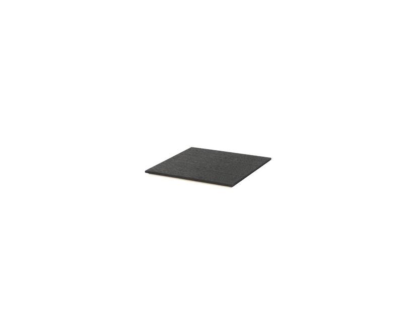 ferm LIVING - Tablett für Plant Box - schwarz Eiche  - 1