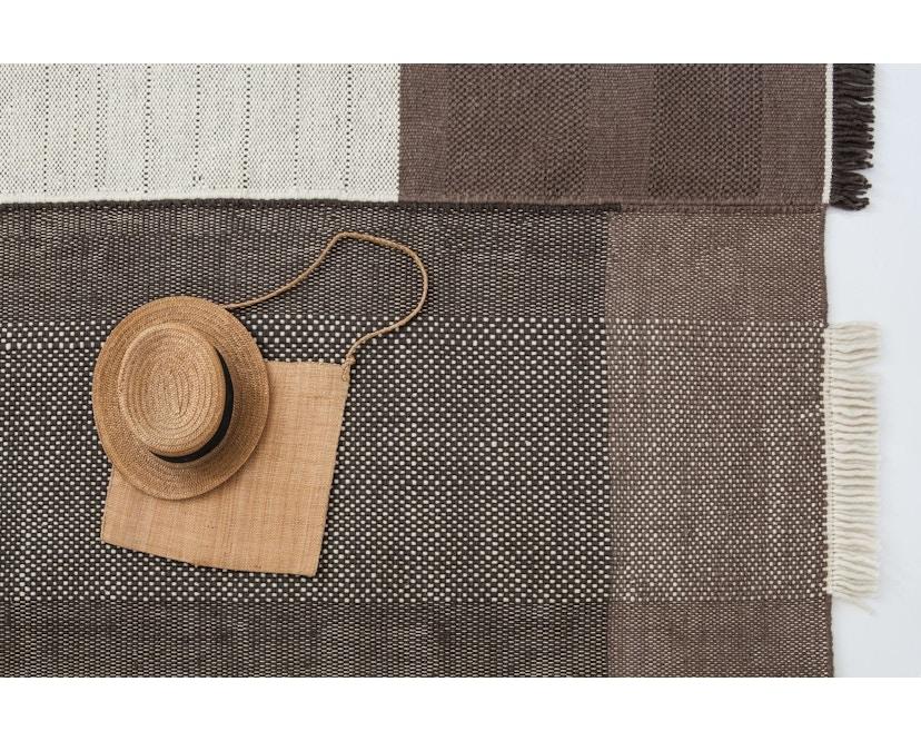 Nanimarquina - Tres Teppich - chocolate - 170 x 240 cm - 3