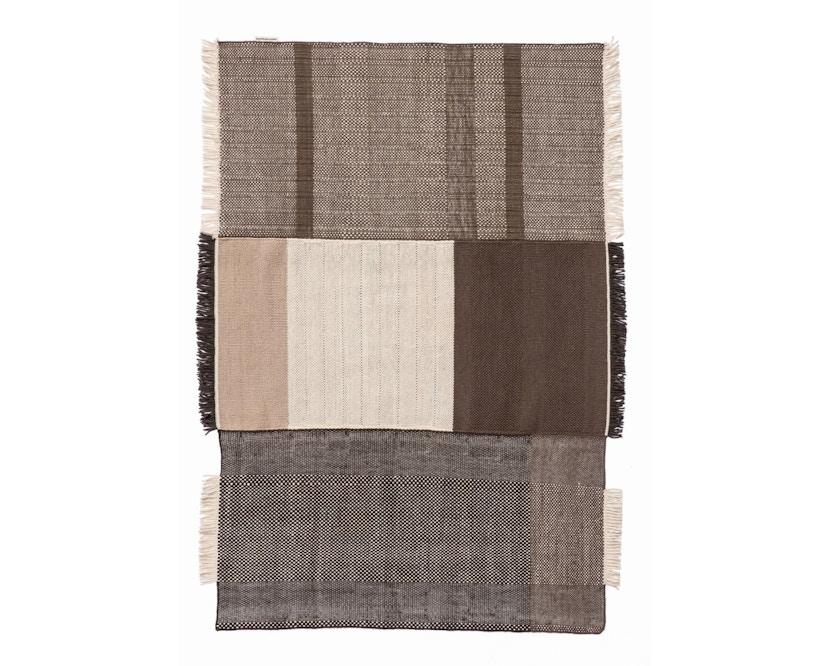 Nanimarquina - Tres Teppich - chocolate - 170 x 240 cm - 1