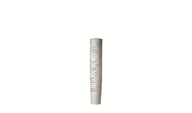 Foscarini - Tress vloerlamp - wit - media Ø24 x 110 cm - halogeen - 1