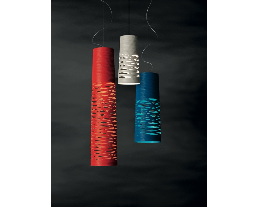 Foscarini - Suspension Tress - 2505 greige - halogène - non dimmable - mini Ø20 x 43 cm - 4
