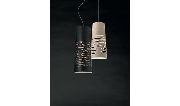 Foscarini - Suspension Tress - 2505 greige - halogène - non dimmable - mini Ø20 x 43 cm - 5