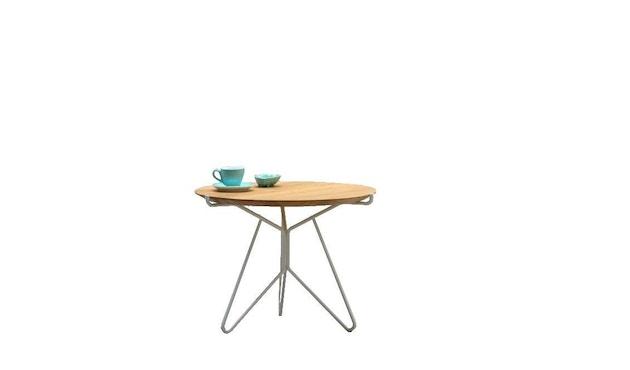 Jan Kurtz - Triad Tisch - schwarz/Nussbaum - Ø 40 cm - 1