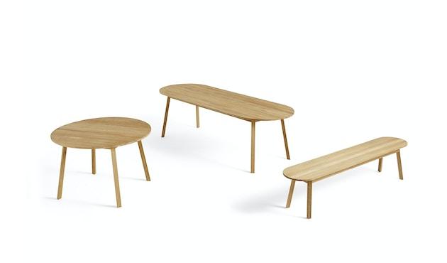 HAY - Triangle Leg Tafel rechthoekig - Eik geolied - 200 x 85 cm - 2