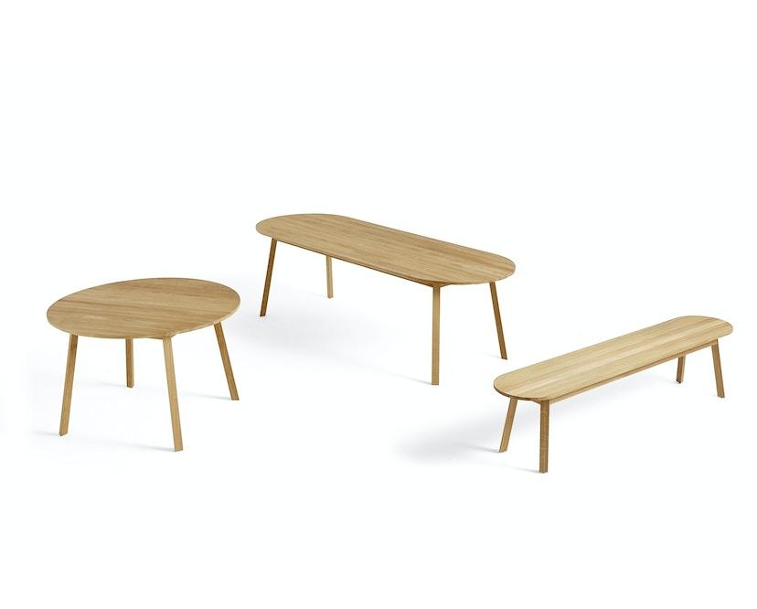 HAY - Table rectangulaire Triangle Leg  - 200 x 85 cm - chêne savonné - 2