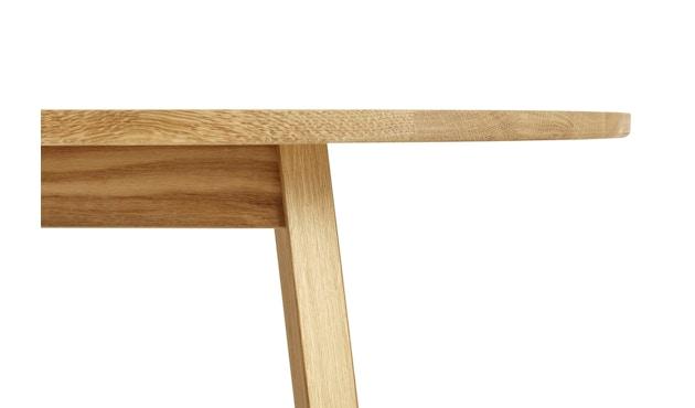 HAY - Table rectangulaire Triangle Leg  - 200 x 85 cm - chêne savonné - 3