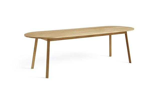 HAY - Triangle Leg Tafel rechthoekig - Eik geolied - 200 x 85 cm - 1