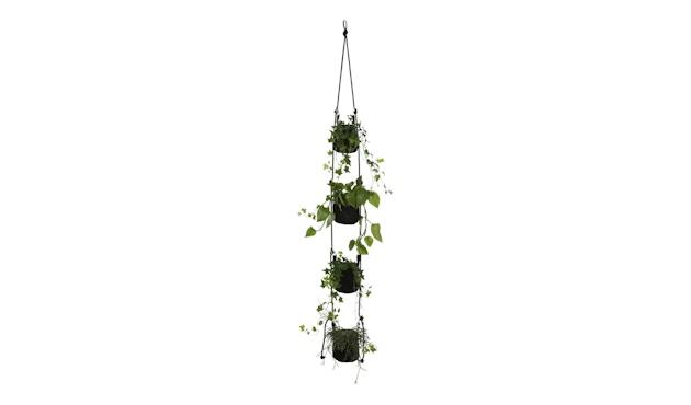 TRIMM Copenhagen - Vertical Flowerpots, black - 1